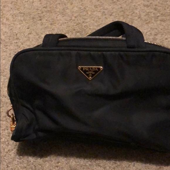 47012e302a58 Prada Bags | Nylon Shoulder Bag With Padlock | Poshmark